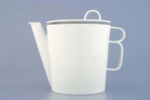 Porcelánová konvice na čaj, Bohemia White, Český porcelán