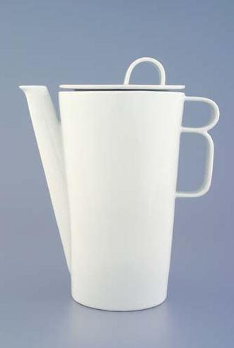 Porcelánová konvice na kávu, Bohemia White, Český porcelán
