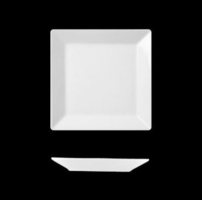 Actual, hranatý talíř mělký 21 cm, Suisse Langenthal