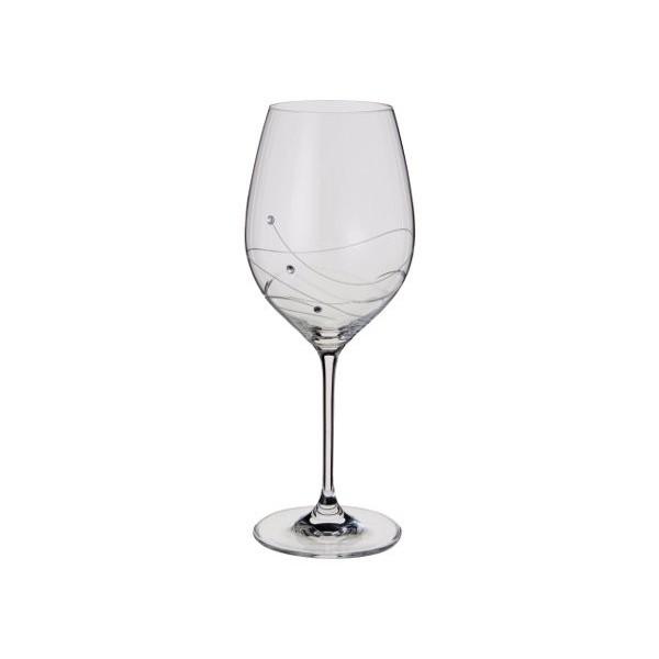 Swarovski, sklenice na víno, 360 ml, Glitz, 2 ks, Dartington Crystal