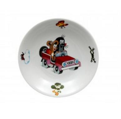Krteček a autíčko, hluboký talíř 20, Thun