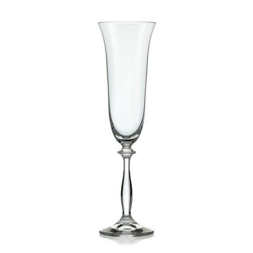 Sklenice na šampaňské Crystalex Angela 190 ml, 6 ks