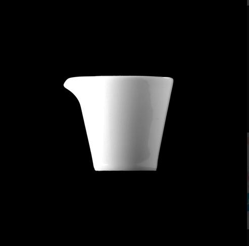 Mlékovka 40 ml, bílý porcelán, Pureline, Lilien