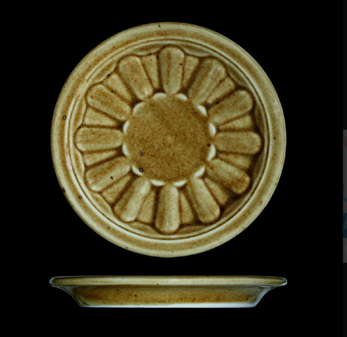 Pivní tácek 12 cm, český porcelán, Country Range, G. Benedikt