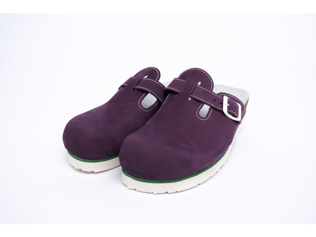 Bota č.14 225(7) 508 K b fialová