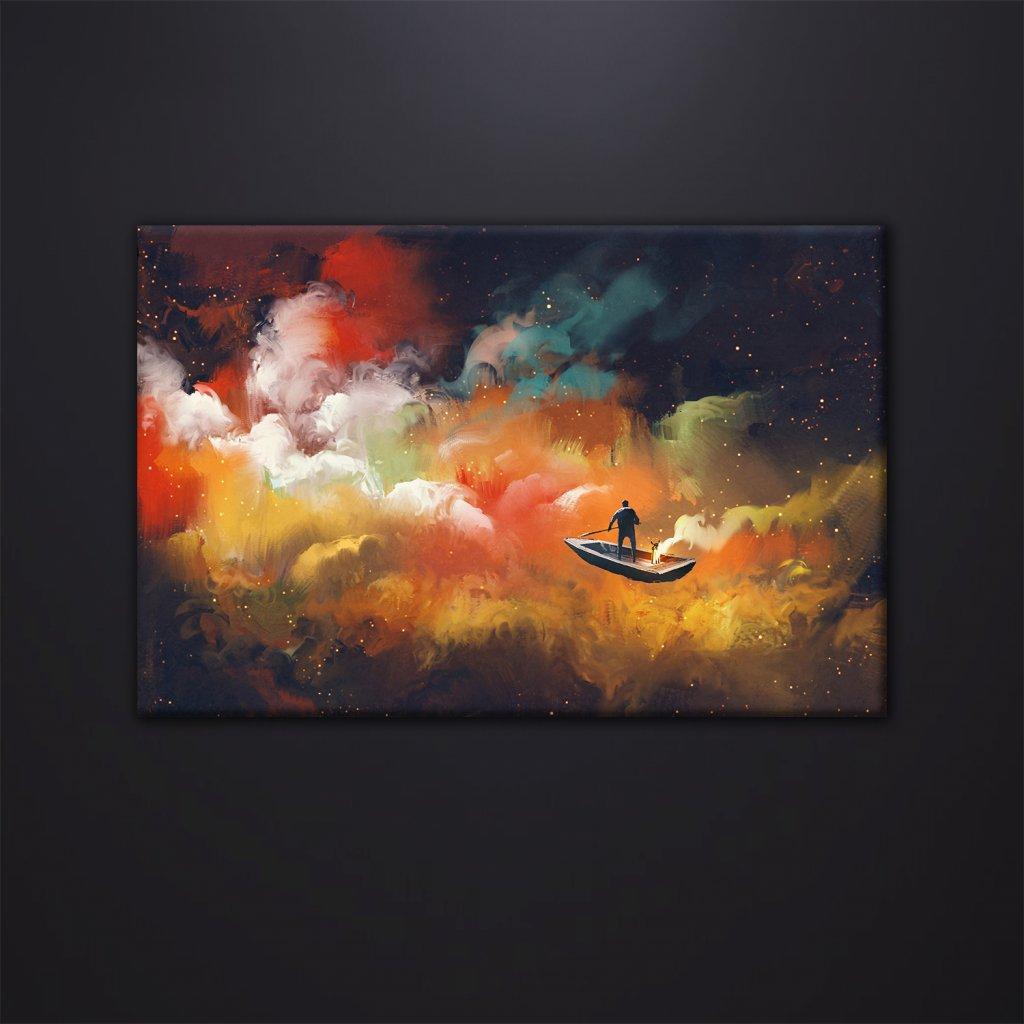 Obraz na stěnu Sky journey