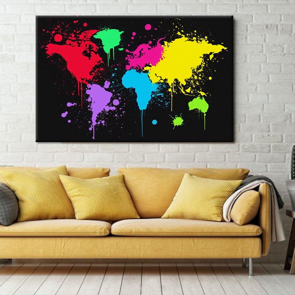 Obraz na stěnu World Map
