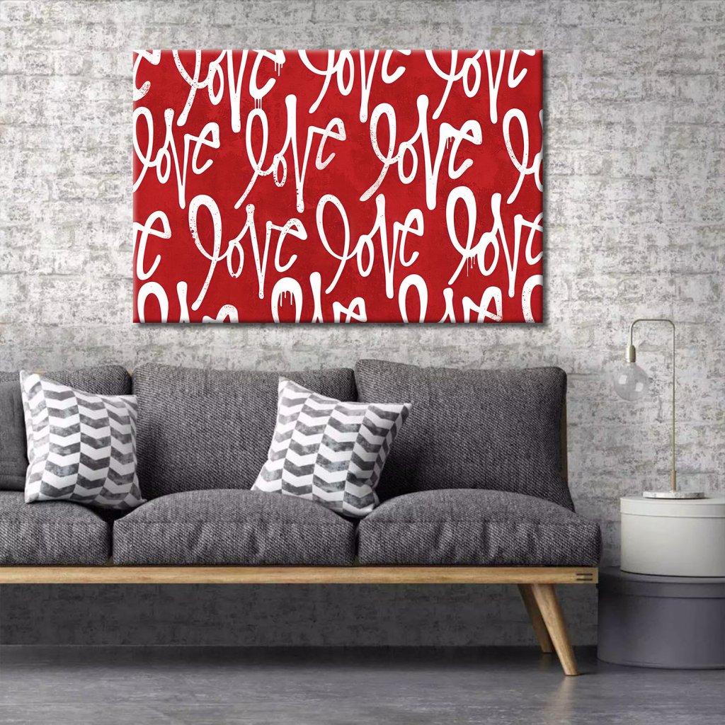 Obraz na stěnu Red Love