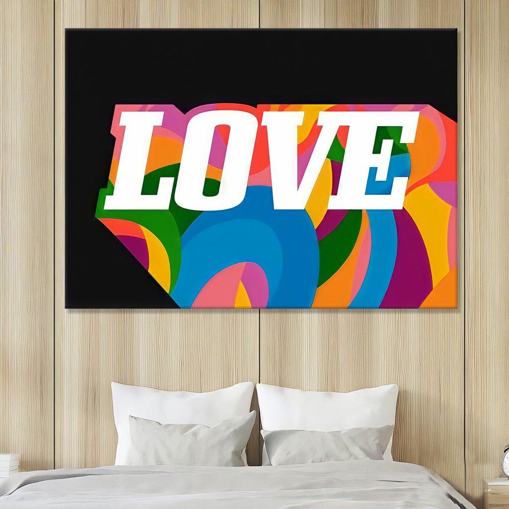 Obraz na stěnu Colorful Love