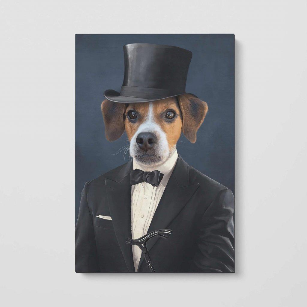 portrety domacich mazlicku gentleman