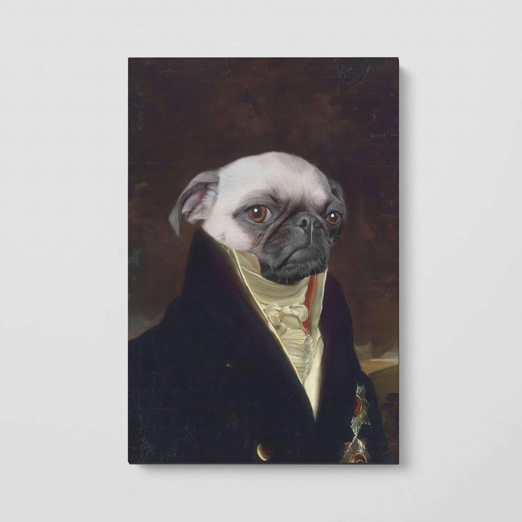 portrety domacich mazlicku Hrabě