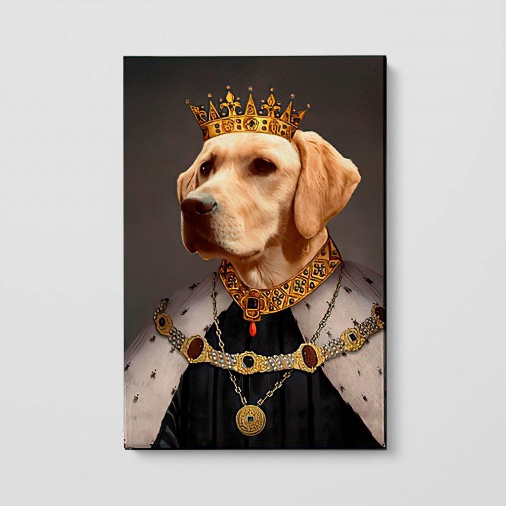 portrety domacich mazlicku Král