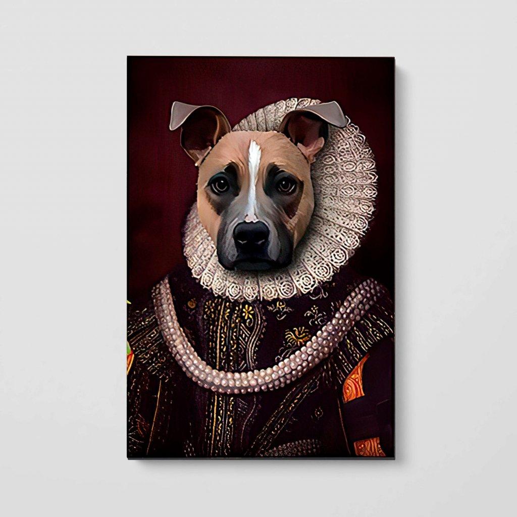 portrety domacich mazlicku Madam