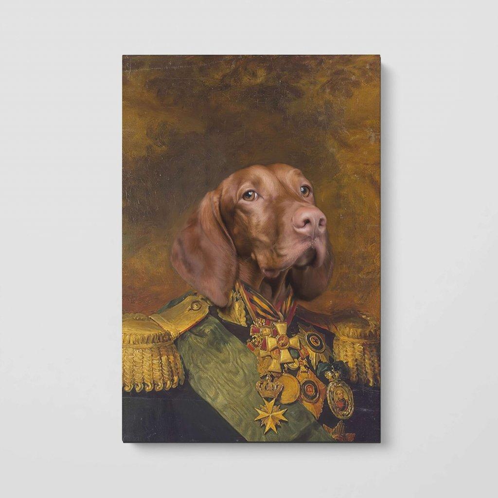 portrety domacich mazlicku Plukovník