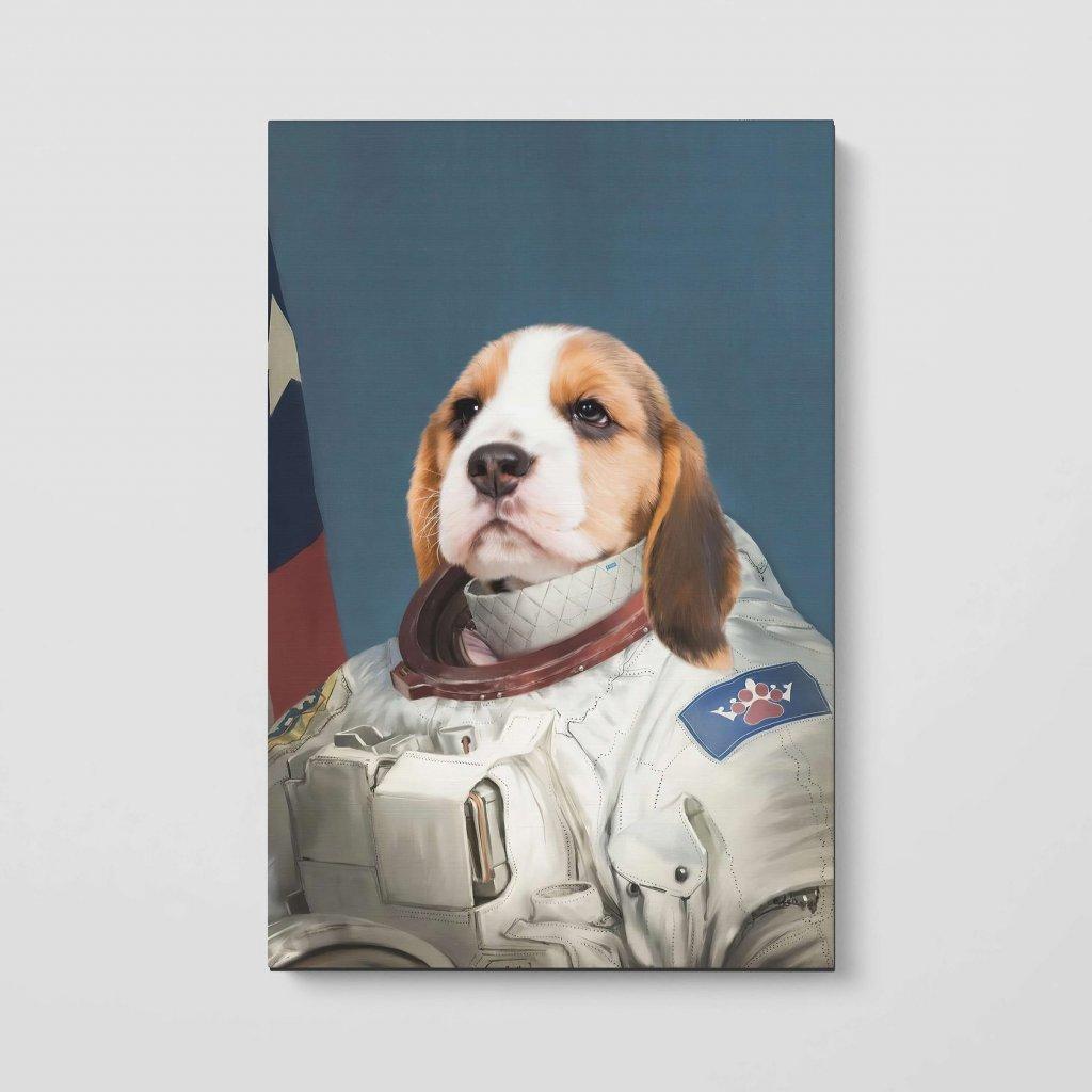 portrety domacich mazlicku kosmonaut 2