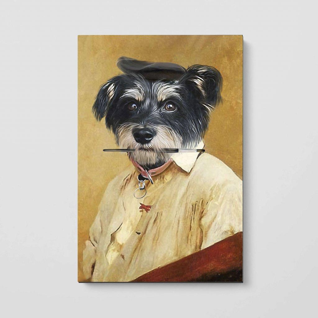 portrety domacich mazlicku malir