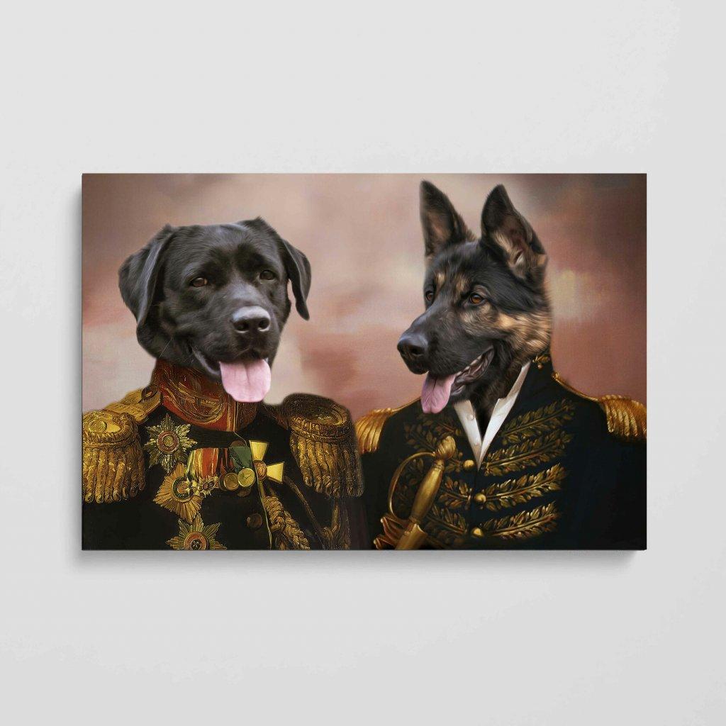 portrét domácích mazlíčků generaly