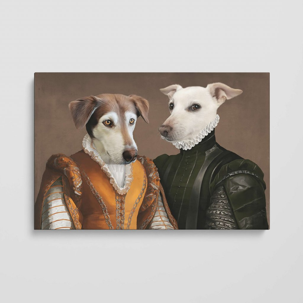 portrét domácích mazlíčků šlechta2