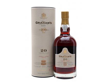 grahams 20 year old tawny port bottle 2
