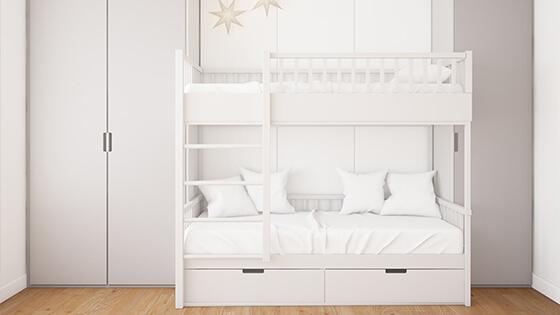 Poschodová posteľ – ako si vybrať tú pravú pre nás?