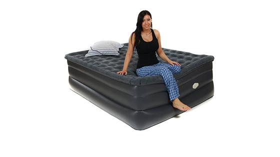 Nafukovacie matrace – pre návštevy aj na cesty