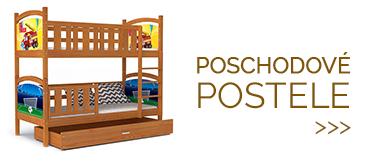 Poschodové postele pre dve det
