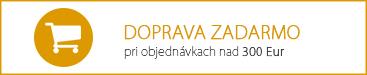 Doprava zadarmo pre objednávka od 300 Eur