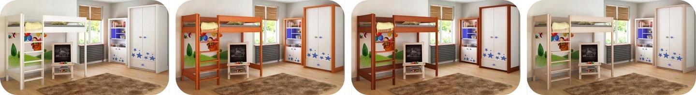 Hugo Pred 180x90 vyvýšená detská posteľ - viac farieb