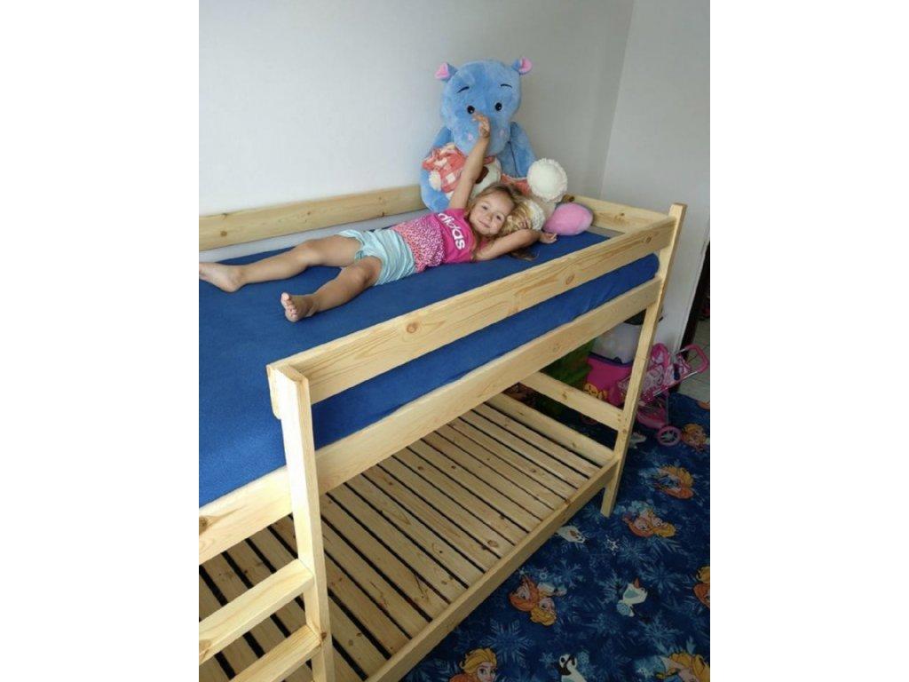 Poschodová posteľ Paulína 200x90