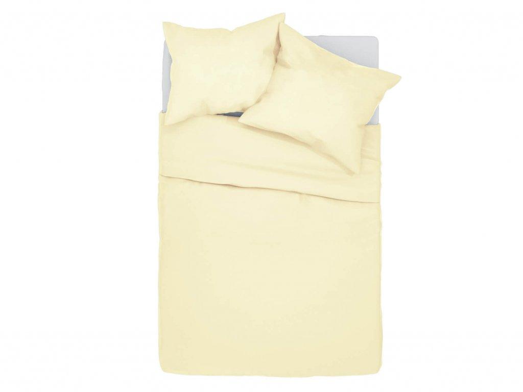Bavlnené obliečky Klarisa - krémové