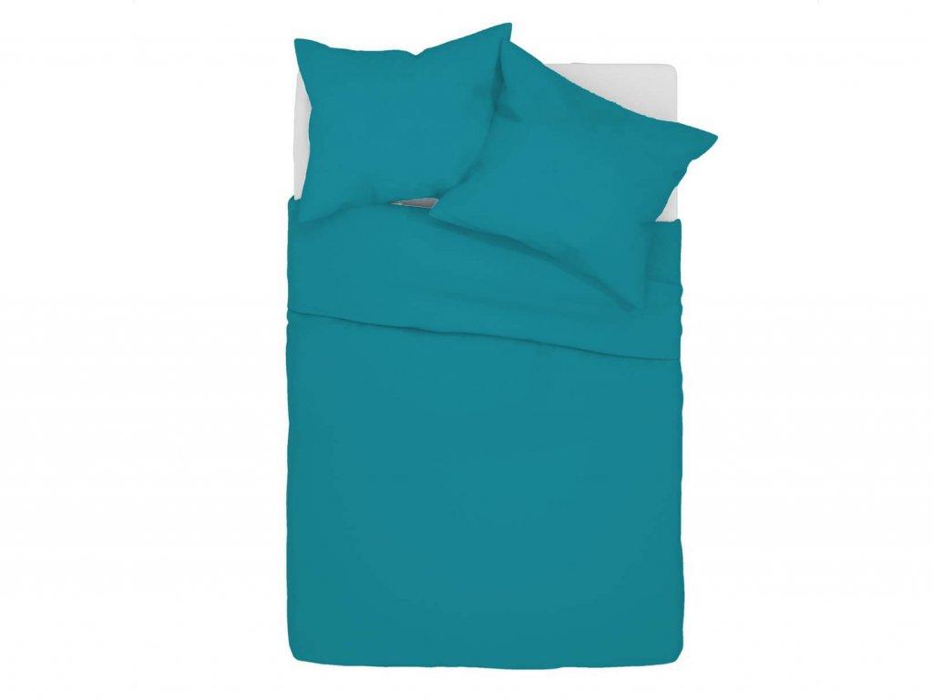 Bavlnené obliečky Klarisa - tyrkysové
