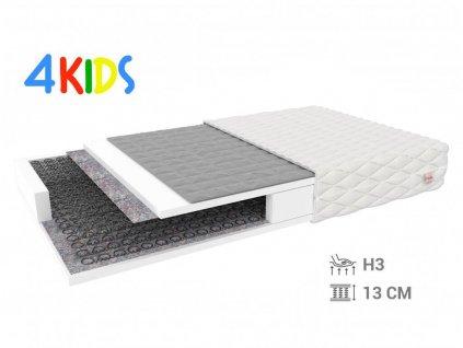 Detský pohánkový matrac Bambino Normal 180x90
