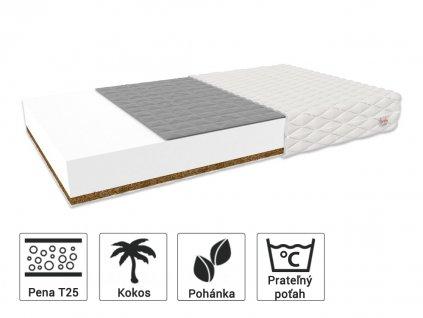 Bambino Console matrac pohánka/kokos 190x90