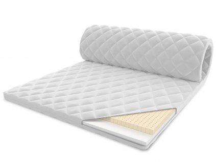 Vrchný latexový matrac z latexu 200x90 - 4 cm