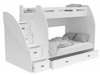 Multifunkčná poschodová posteľ Max 3 - rôzne farby
