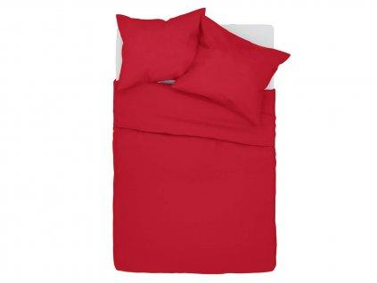 Bavlnené obliečky Klarisa - červené