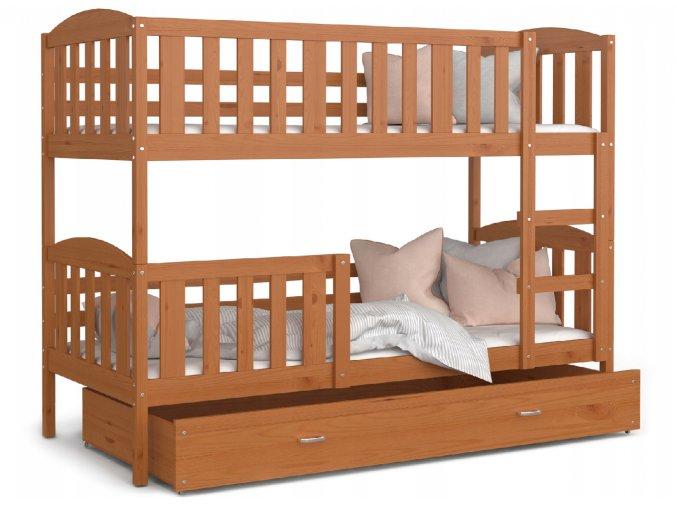 Poschodové postele Kuba 190x80 Jelša
