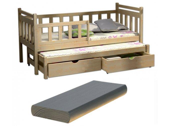 Veronika 4 180x80 rozkladacie postele