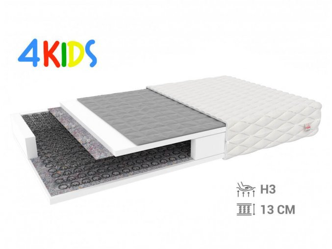 Pohánkový matrac Bambino Normal 190x90x13