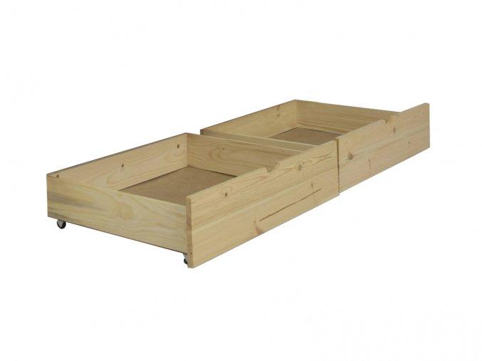 Úložné boxy na posteľ Paulína