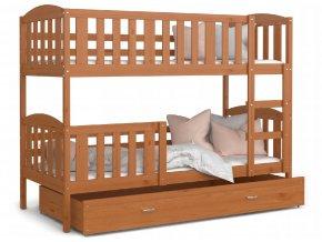 Poschodové postele Jakub 5 190x80 Jelša