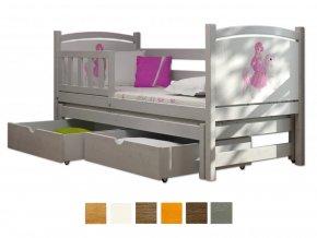 Detské postele s prístelkou Veronika 5 200x90