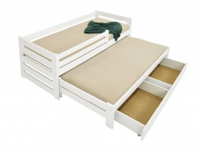 Veronika 7 200x90 posteľ s prístelkou a úložným priestorom