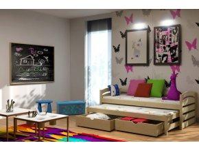 Veronika 12 180x80 posteľ s prístelkou