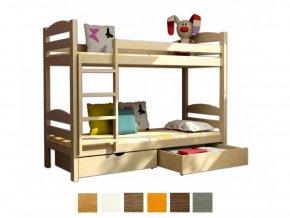 Dvojposchodová posteľ Paula 4 200x90