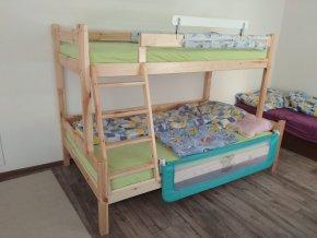 Petra 6 180x120 Poschodová posteľ s rozšíreným spodným lôžkom