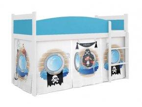 Swing piráti 04 detská posteľ rošt + matrac zadarmo