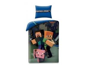Minecraft obliečky 20BL