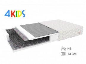 Detský pohánkový matrac Bambino Normal 180x90x13