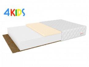 Pikolino detský Priedušný latexový matrac 160x90x10